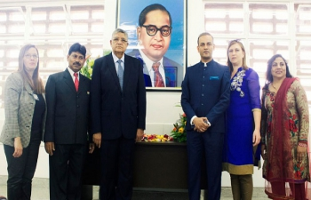 Dr. B.R. Ambedkar Study Centre opens in Venezuela, 14 April 2016