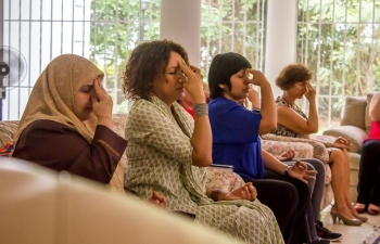 Workshop 'Equilibrium and Harmony in Life' by 'Art of Living – Venezuela', 04 May 2016