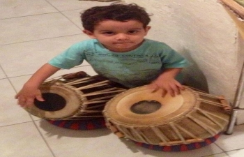 Indian musical instruments donated to 'Hindustani Sangeet School' of Venezuela
