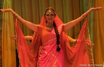 Play inspired by an Indian theme being screened in Caracas
