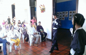 Ambassador visits the historic city of Calabozo in Guarico State