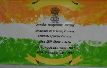 Embassy of India, Caracas, celebrated the