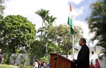 68th Republic Day of India celebrated in Caracas
