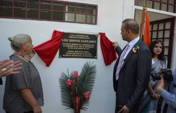 A new Workshop and IT Centre was inaugurated at the Father Bernard Karikamury Socio-Educational Complex in Araira, Miranda State