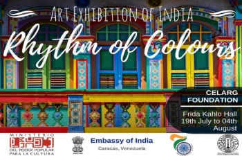 Rhythm of Colours Painting Exhibition