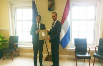 Ambassador paid a visit to Curacao