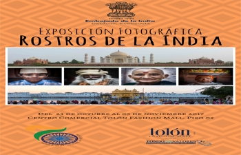 "Photograph Exhibition ""Rostros de la India"""
