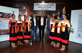 An Exhibition on the North Eastern States of India was inaugurated at the National Library, Caracas. The Exhibition will remain open till 1 December.