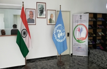Embassy of India, Caracas commemorates United Nations Day 2018