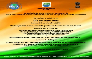 3rd Ayurveda Day Celebrated at Maracay, Venezuela