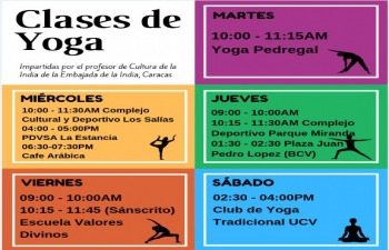 Yoga Classes at Venezuela