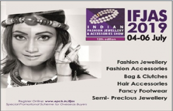 12th Indian Fashion Jewellery & Accessories Show (IFJAS)