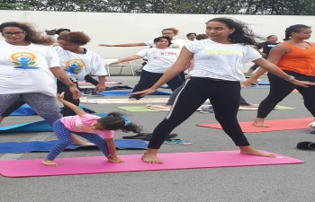 5TH INTERNATIONAL DAY OF YOGA AT CURACAO