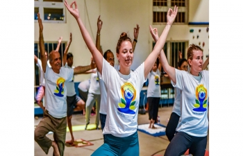 5TH INTERNATIONAL DAY OF YOGA AT SINT MAARTEN