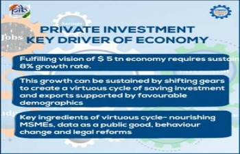 Survey 2018-19 aims 8% growth for coming 5 years