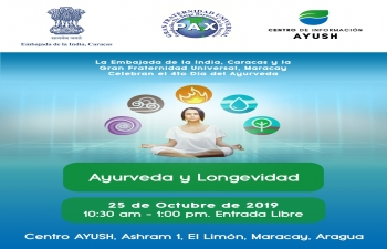 Invitation to the Celebration of 4th Day of Ayurveda