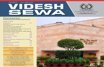 VIDESH SEWA - Newsletter of Foreign Service Institute