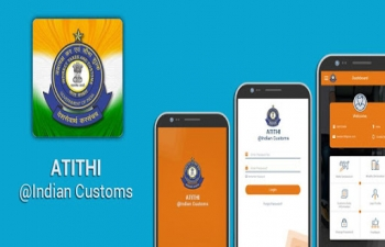 Atithi@Indian Customs Mobile Application