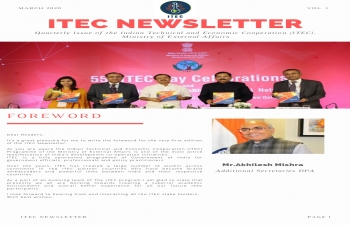 First edition of ITEC Newsletter