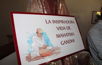 Photographic Exhibition on The Inspiring Life of Mahatma Gandhi