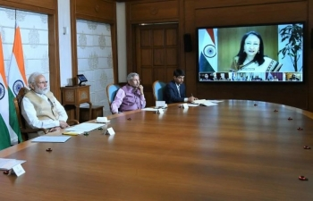 Prime Minister video conference with the Heads of Indian Missions