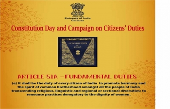 Constitution Day and Campaign on Citizens Duties.