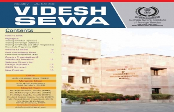 VIDESH SEWA - Newsletter of Foreign Service Institute..