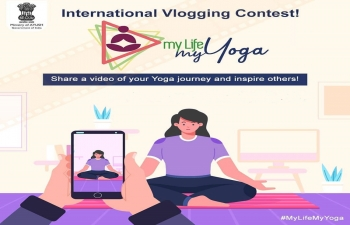 """My Life My Yoga"" Video Blog competition"