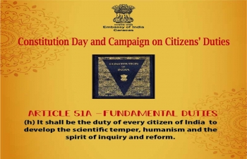 Constitution Day and Campaign on Citizens Duties (51A-G)...