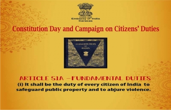 Constitution Day and Campaign on Citizens Duties (51A-I)