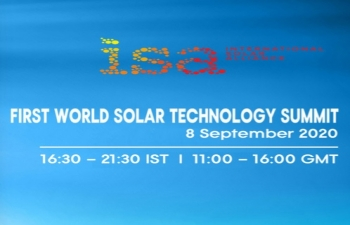 First World Solar Technology Summit being organized by ISA