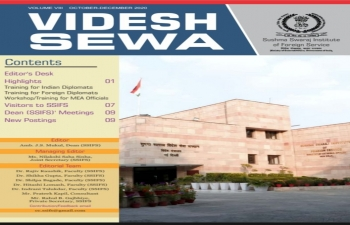VIDESH SEWA VIII - Newsletter of Sushma Swaraj Institute of Foreign Service