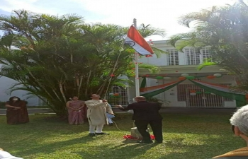 Flag Hoisting Ceremony on the occasion of 72nd Republic Day
