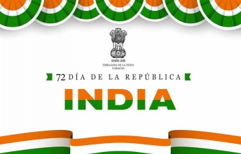 Reception organised by the Embassy of India, Caracas to mark the 72nd Republic Day of India
